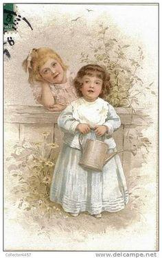 Vintage little girls