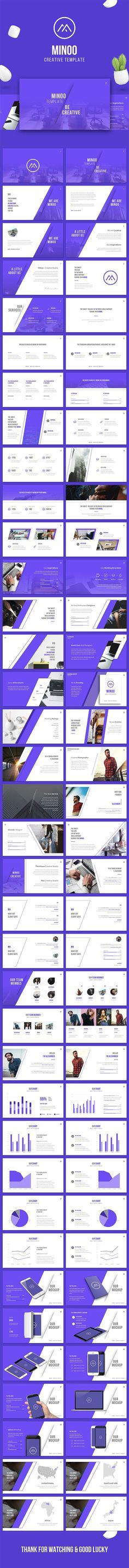 Креативный шаблон презентации KEY, PPTX, PPT
