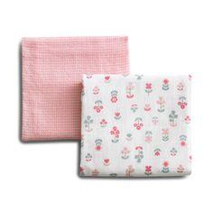 DwellStudio Rosette Blossom Swaddle Blanket