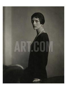 Vogue - April 1924 Regular Photographic Print by Edward Steichen at Art.com