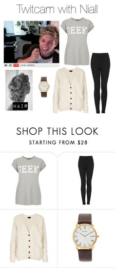 """Twitcam with Niall"" by outfits-with-one-direction ❤ liked on Polyvore featuring Topshop and Sekonda"