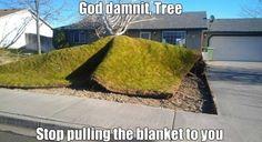 Funny God damnit nature Jokes MEME 2014