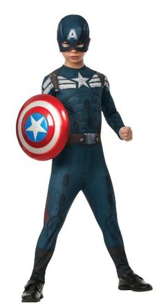 Rubies Captain America: The Winter Soldier Stealth Suit Costume, Child Small >>> You can get more details by clicking on the image.