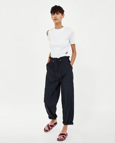 Women's Trousers | New Collection Online | ZARA United States