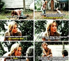 Lizzie was seriously messed up, but Brighton Sharbino did an amazing job portraying her!