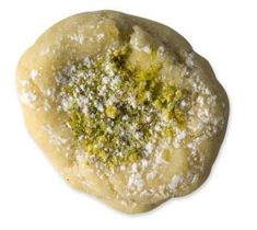 Ab-e dandon: Sweets, like this cardamom cookie with rosewater and pistachios, are an integral part of the four days of festivities of Eid al-Adha.