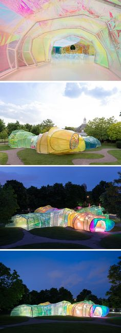 Serpentine Pavilion 2015, London, 2015 - Selgascano Arquitectos.. it's so colourful