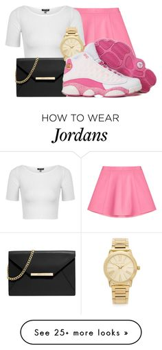 """""""Untitled #186"""" by ash-143-polyvore on Polyvore featuring mode, RED Valentino, Topshop, MICHAEL Michael Kors, Michael Kors, women's clothing, women, female, woman en misses"""