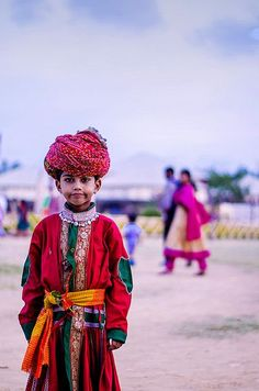 Colors of the country #Rajasthan #India #Pagadi #Turban #Indian child #MyStateWithJaypore