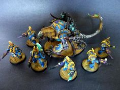Thousand Sons Terminator squad