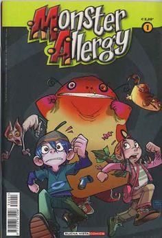 #MonsterAllergy #comics