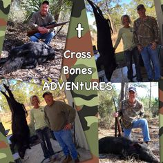 Great #times, #fun, #family, #adventure! #whatgetsyououtdoors #hog #hunting #CROSSBONESADVENtURES  Thank you Mike & David!!!