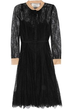 Chantilly lace dress by Valentino