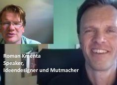 Roman Kmenta – Speaker, Ideendesigner und Mutmacher