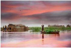 صور من أهوار ميسان  جنوب العراق