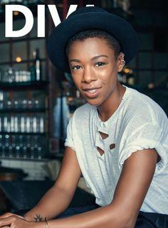 SAIRA WILEY FOR DIVA MAGAZINE 2015 | ... ver a Samira Wiley arrasando nesse ensaio exclusivo da Diva Magazine