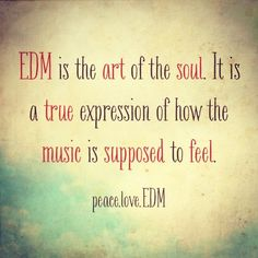 Peace Love EDM http://ElectroThreads.com
