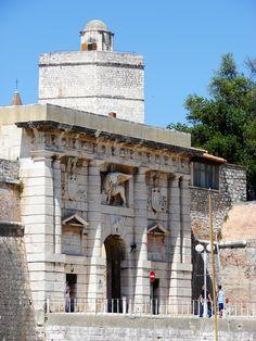 Zadar, main land entrance