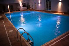The Edge Health and Fitness Club boasts a 15 metre indoor swimming pool.
