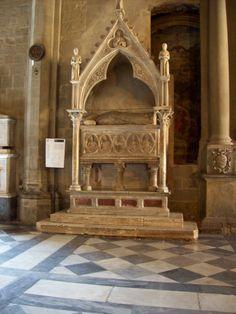 In a church in Arezzo
