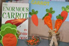 Letter C (Carrots) Literacy Center