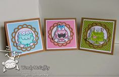 Your Next Stamp - Silly Monsters 2 and Open Scallop Die