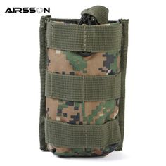 Airsoftsports Top Open Single Magazine Pouch Military Tactical Combat EDC Accessory Pack Cartridge Clip Bag Fit For M4 Hunting.