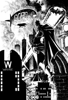 Gotham City by Adam Brian Cabaret