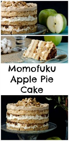 Momofuku Apple Pie Cake - a showstopper that tastes just like fall! www.pastry-wokshop.com #cakes #desserts #pastrychef #momofuku #baking #recipes