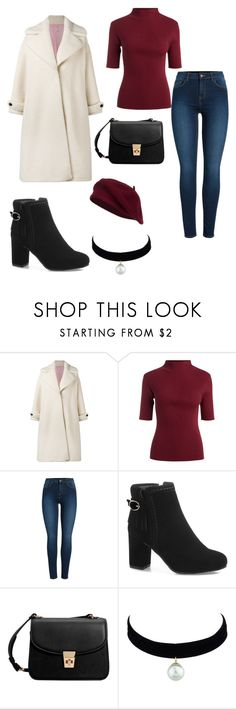 """""""Untitled #697"""" by megibson2005 on Polyvore featuring Olympia Le-Tan, Pieces and MANGO"""