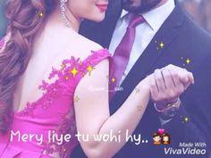 Mery liye tu wohi hy.. - YouTube Romantic Love Song, Romantic Songs Video, Beautiful Songs, Love Songs, Beautiful Places, Love Status Whatsapp, Song Status, Cute Couple Pictures, Download Video