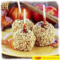 Karmelizowane jabłka - można je jeść oczami, takie są ładne! :) www.winiary.pl