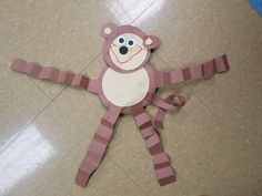 pinterest/preschool zoo   Everyone loves monkeys so our very first zoo art project had to be a ...