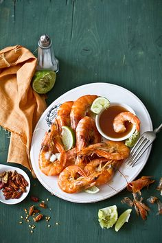 Chili, lime and butter prawns | Flickr - Photo Sharing!