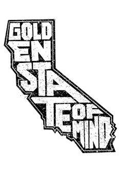 Golden state of mind...