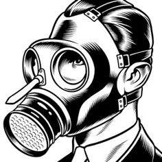 Gas Mask by Charles Burns