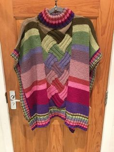 Uptown Poncho (of many colours)