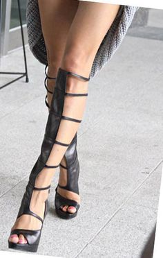 Unique Gladiator Boots Sandal <3 :)