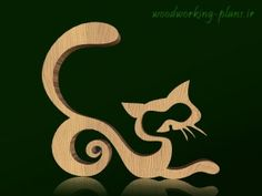 Wooden statue cat is a beautiful Wooden structure that you can download it free and in DXF and PDF formats with direct link.
