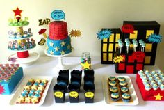 Superheroes Party | CatchMyParty.com