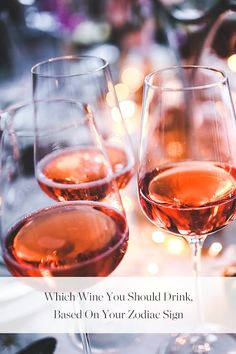 Which Wine You Should Drink, Based on Your Zodiac Sign via @PureWow