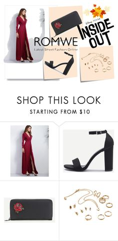 """""""Romwe 6/10"""" by lugavicjasmina ❤ liked on Polyvore featuring Post-It and Disney"""