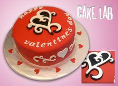 Valentines Day Cake cakepins.com