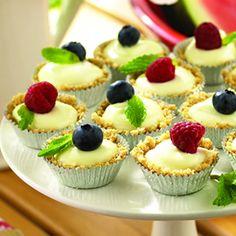 Mini Cheesecakes  #cheesecakes