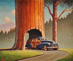 Redwood - Original Fine Art for Sale - © Robert LaDuke
