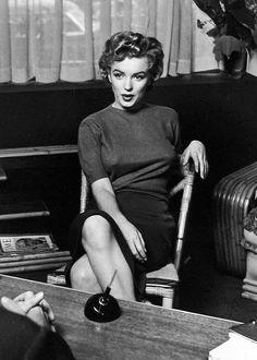Our Marilyn Monroe — Marilyn Monroe, 1952.