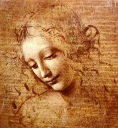 La Scapigliata, Leonardo Da Vinci ~~ Oh, Leo...I love you.