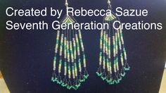 Created by Rebecca Sazue, Seventh Generation Creations