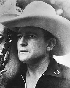 Buck Jones, up there with Hoot Gibson and Tom Mix in popularity. Later, one of The Rough Riders. Died tragically at 50, in Copacabana nightclub fire, over 200 killed.