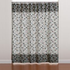 Mosaic Tiles 70' x 72' PEVA Shower Curtain for the master bath shower? - Bed Bath & Beyond   $9.99